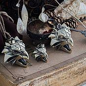 Украшения handmade. Livemaster - original item Pendant Griffin. The Medallion Of The Witcher. The Witcher Nickel silver brass. Handmade.