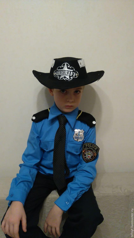 Костюм шерифа для мальчика своими руками
