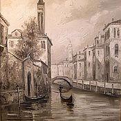 Картины и панно handmade. Livemaster - original item Black and white Venice. Handmade.