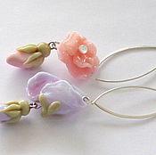 Украшения handmade. Livemaster - original item Earrings Delicate lampwork. Handmade.