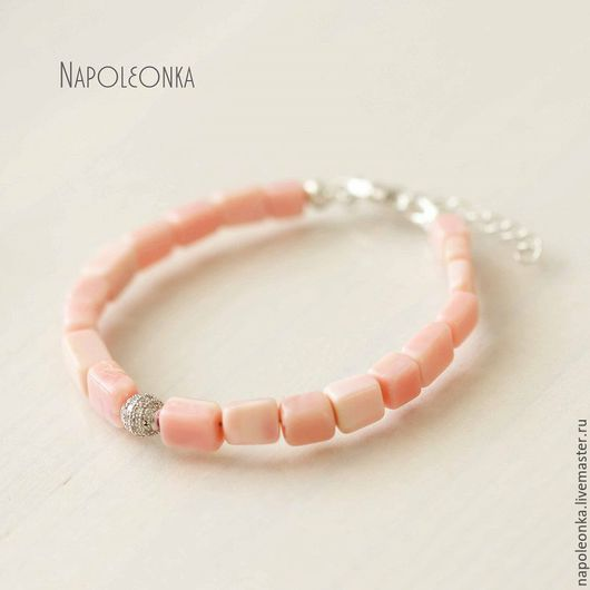 опал, розовый опал, браслет, опаловый, серебро 925 пробы, браслет на руку, купить браслет, купить браслет в москве, украшения в москве, купить, подарок, розовый, розовый камень, натуральные камни