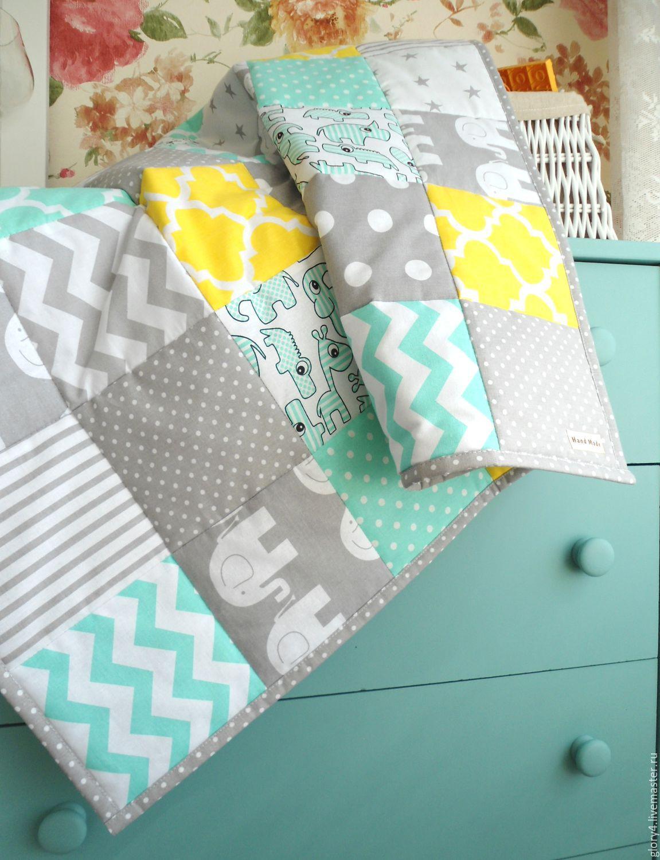 Одеяло для новорожденного сшить из лоскутков