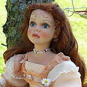 Куклы и игрушки handmade. Livemaster - original item Collectible doll Apricot color OOAK. Handmade.
