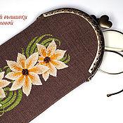 Сумки и аксессуары handmade. Livemaster - original item Spectacle Case Chiaro. Handmade.