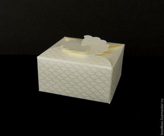 Упаковка ручной работы. Ярмарка Мастеров - ручная работа. Купить коробочка для подарка. Handmade. Белый, упаковка, упаковка для подарка