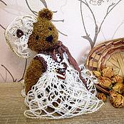 Куклы и игрушки ручной работы. Ярмарка Мастеров - ручная работа Мишка тедди Тирамису из серии Сладкоежки. Handmade.