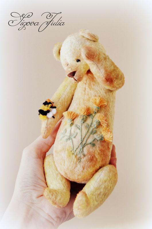"""Мишки Тедди ручной работы. Ярмарка Мастеров - ручная работа. Купить Мишка тедди """" Уронило солнце лучик золотой"""". Handmade."""