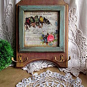Для дома и интерьера handmade. Livemaster - original item Housekeeper-hanger birds. Handmade.