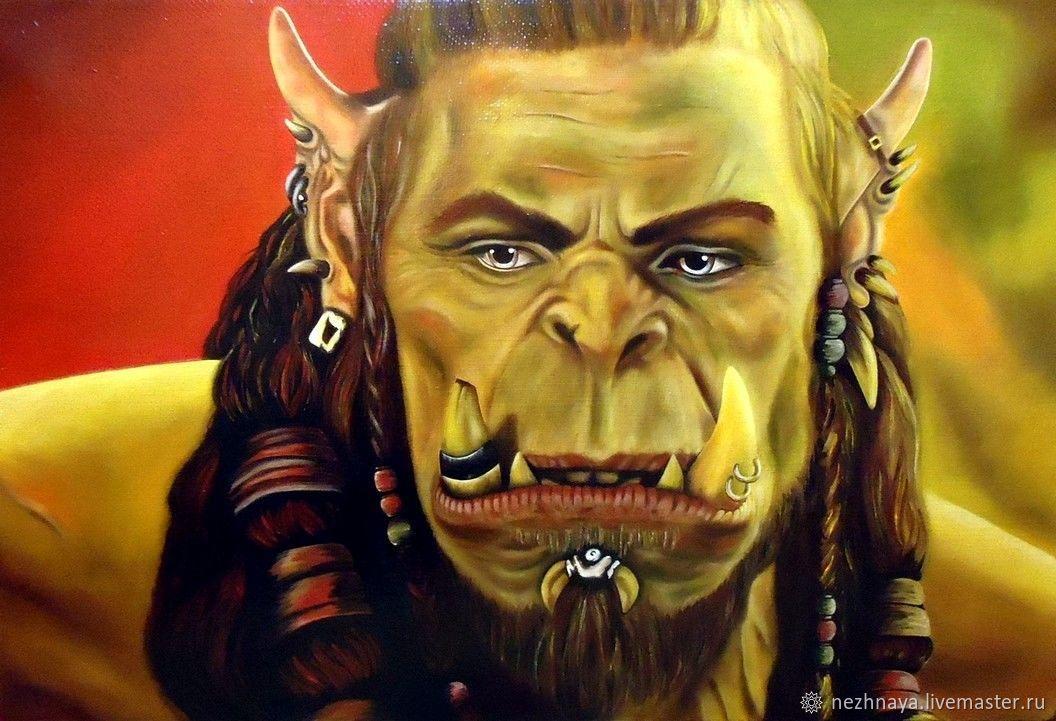 """Картина """"Дуротан (Warcraft)"""", Картины, Ростов-на-Дону,  Фото №1"""