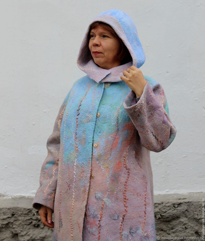 пальто из валяной шерсти без подкладки фото лучшую