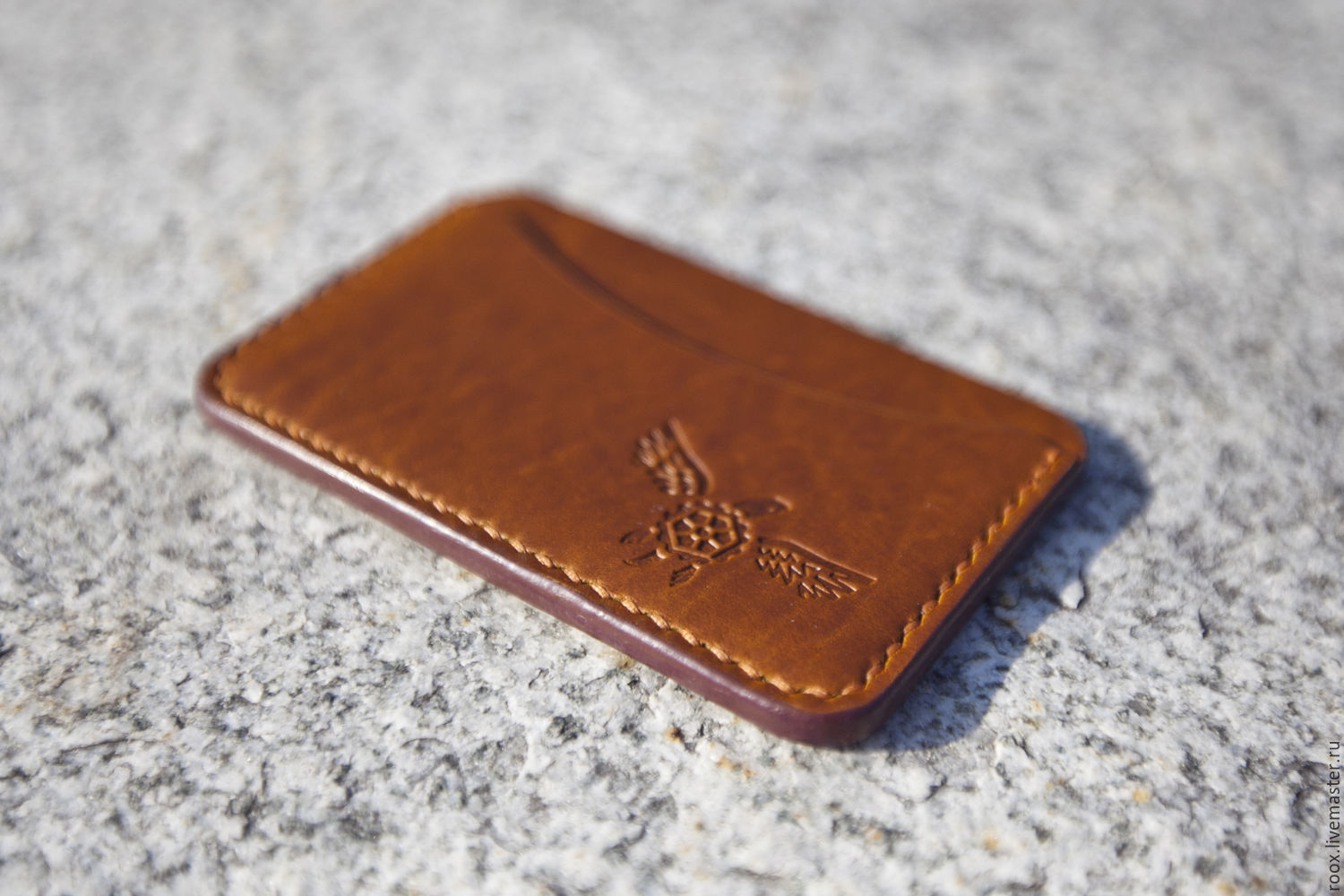 The image card holder leather horween chromexcel pull up shop buy the image card holder wallets business card holders handmade the image card holder leather horween chromexcel pull up reheart Choice Image