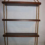 Для дома и интерьера ручной работы. Ярмарка Мастеров - ручная работа Полки подвесные. Handmade.