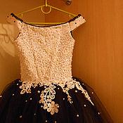 Свадебный салон ручной работы. Ярмарка Мастеров - ручная работа Стильное бальное платье для маленькой принцессы. Handmade.