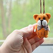 Сувениры и подарки handmade. Livemaster - original item Toy tiger, symbol of the year tiger, symbol of 2022. Handmade.