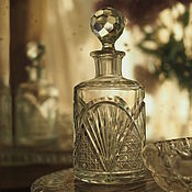Винтаж handmade. Livemaster - original item Antique carved perfume Bottle. Handmade.