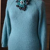 """Одежда ручной работы. Ярмарка Мастеров - ручная работа Пуловер """"Тиффани"""". Handmade."""