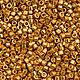 Для украшений ручной работы. Ярмарка Мастеров - ручная работа. Купить Бисер delica 1833 Duracoat Galvanized Yellow Gold. Handmade.