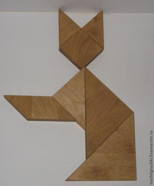Развивающие игрушки ручной работы. Ярмарка Мастеров - ручная работа. Купить Танграм березовый. Handmade. Танграм, берёза