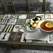 Для дома и интерьера handmade. Livemaster - original item Table-Tray for breakfast
