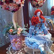 Куклы и игрушки ручной работы. Ярмарка Мастеров - ручная работа Рыжеволосая красавица Джулия. Handmade.