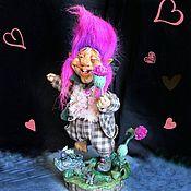 Куклы и пупсы ручной работы. Ярмарка Мастеров - ручная работа Куклы и пупсы: Сэр Чертополох. Handmade.