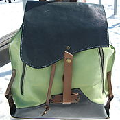 Сумки и аксессуары handmade. Livemaster - original item Backpack, convertible:Spring. Handmade.