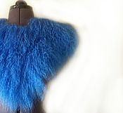 Одежда ручной работы. Ярмарка Мастеров - ручная работа Воротник из меха ламы. Handmade.