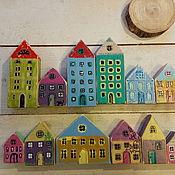 Для дома и интерьера ручной работы. Ярмарка Мастеров - ручная работа Домики деревянные в интерьер. Handmade.