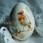 """Подарки к праздникам ручной работы. Ярмарка Мастеров - ручная работа Яйцо """"Птицы"""". Handmade."""