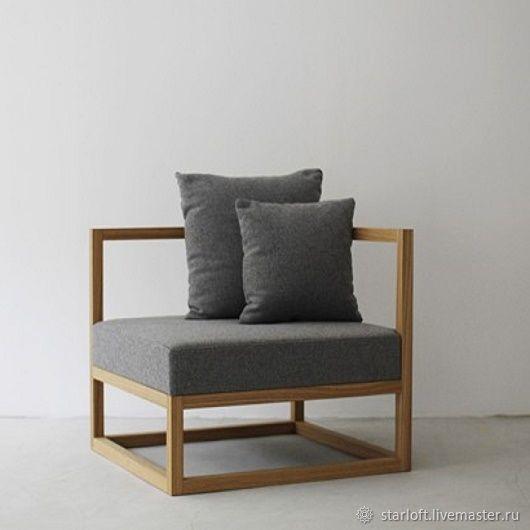 Кресло и диван в стиле лофт на металлическом каркасе, Диваны, Санкт-Петербург,  Фото №1