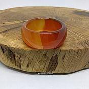 Украшения handmade. Livemaster - original item 19.5 Agate ring Two flames. Handmade.