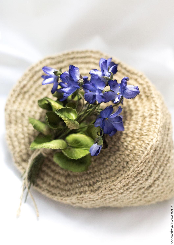 Ярмарка мастеров цветы из шелка пошаговый мастер класс + видео #4