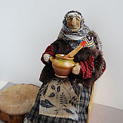 Куклы и игрушки ручной работы. Ярмарка Мастеров - ручная работа Баба-Яга. Handmade.
