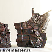 Для домашних животных, handmade. Livemaster - original item decorations for aquariums