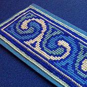 """Закладки ручной работы. Ярмарка Мастеров - ручная работа Закладка для книги """"Магия синего"""". Handmade."""