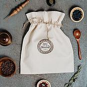 Сувениры и подарки handmade. Livemaster - original item Gift packaging Fabric bag gift bag 30 x 40 cm U1. Handmade.