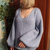 Одежда handmade. Livemaster - original item Knitted mohair sweater