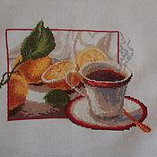 Картины и панно ручной работы. Ярмарка Мастеров - ручная работа Чашка кофе. Handmade.