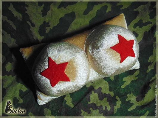 Текстиль, ковры ручной работы. Ярмарка Мастеров - ручная работа. Купить Звездный бюст, подушка игрушка. Handmade. Бежевый, мужчине