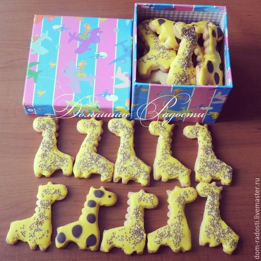 Кулинарные сувениры ручной работы. Ярмарка Мастеров - ручная работа. Купить Пряники для ребенка Жирафы. Handmade. Детский день рождения