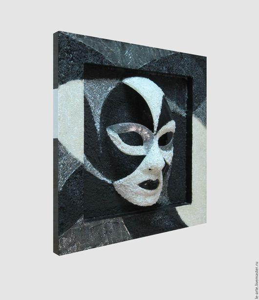Интерьерные  маски ручной работы. Ярмарка Мастеров - ручная работа. Купить Маска / Панно. Handmade. Комбинированный, пластик, картина