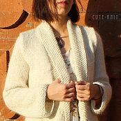 Одежда handmade. Livemaster - original item Cardigan long white. Handmade.