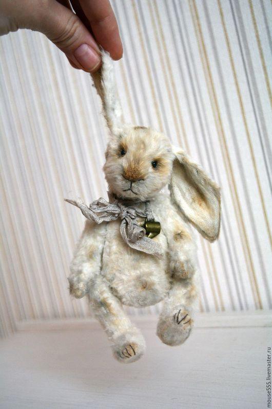 Мишки Тедди ручной работы. Ярмарка Мастеров - ручная работа. Купить Зайка Тоша. Handmade. Винтажный стиль, вискоза германия
