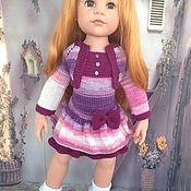Куклы и игрушки ручной работы. Ярмарка Мастеров - ручная работа Вязанный наряд на кукол Gotz. Handmade.