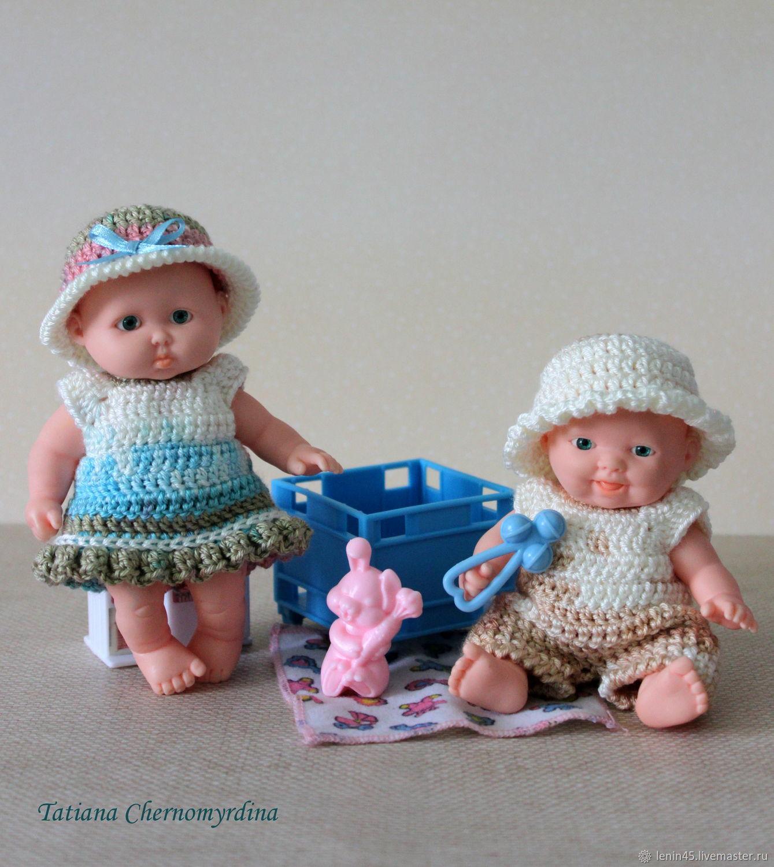 Одежда для пупсиков 12 см, Одежда для кукол, Стерлитамак,  Фото №1