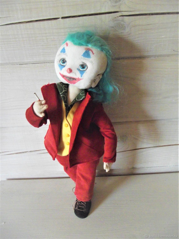 Кукла Джокер, Портретная кукла, Москва,  Фото №1