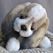 Куклы и игрушки handmade. Livemaster - original item Teddy puppy Beagle. Handmade.