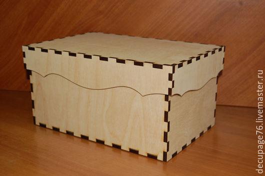 Короб с крышкой (продается в разобранном виде) Размеры: 30х20х15 см Материал: фанера 6 мм