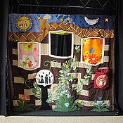 Куклы и игрушки ручной работы. Ярмарка Мастеров - ручная работа Ширма для театральной студии. Handmade.