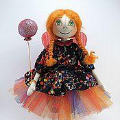 Куклы и игрушки ручной работы. Ярмарка Мастеров - ручная работа Рыжая феечка:). Handmade.